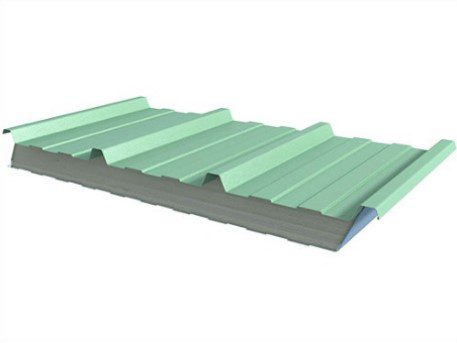 Agricultural building insulated panels example for roofs and walls