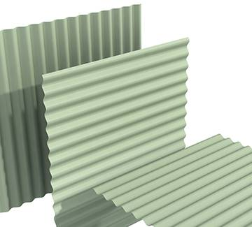 TF18 1067S metal roofing cladding trimfrom fabrications