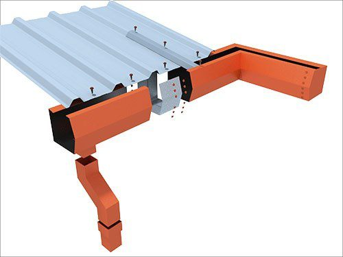 Trimform Trimline box eaves gutters rainwater management